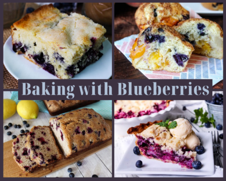 Baking With Blueberries
