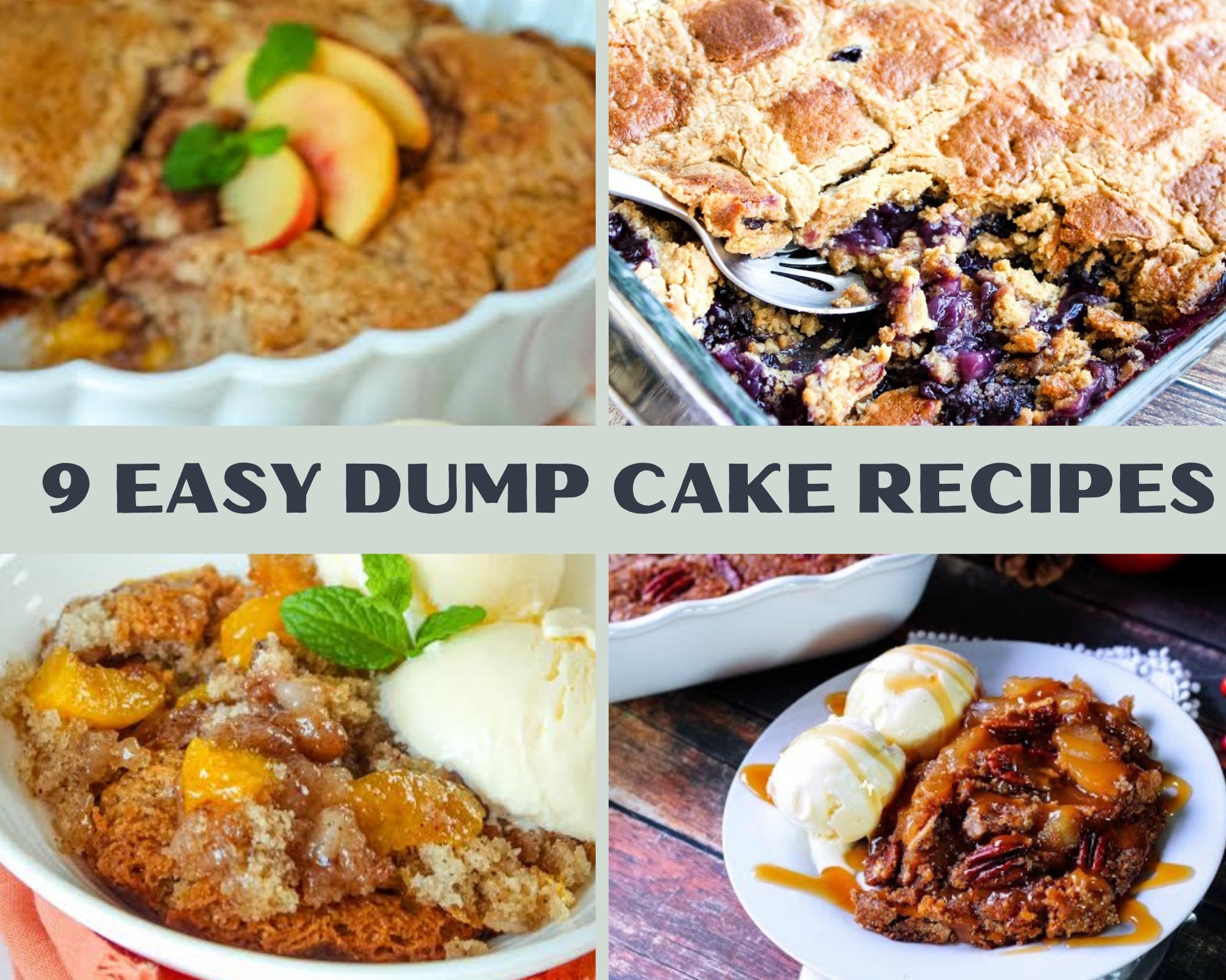 9 dump cake recipes