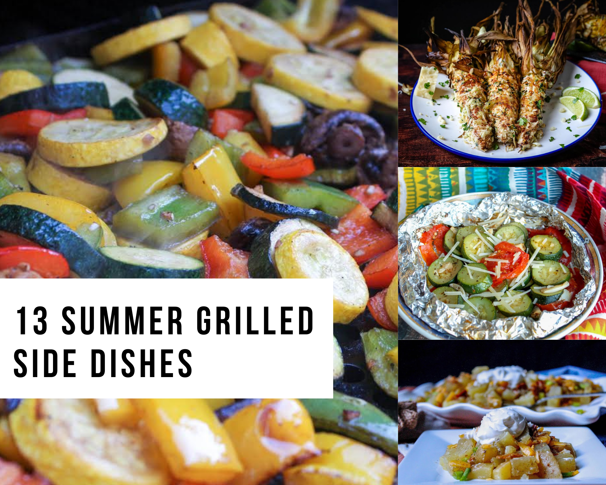 Summer grilled side dishes
