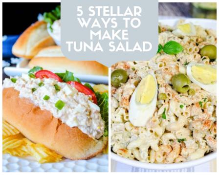 5 Stellar Ways To Make Tuna Salad