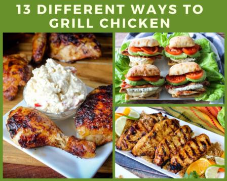 13 Different Ways To Grill Chicken