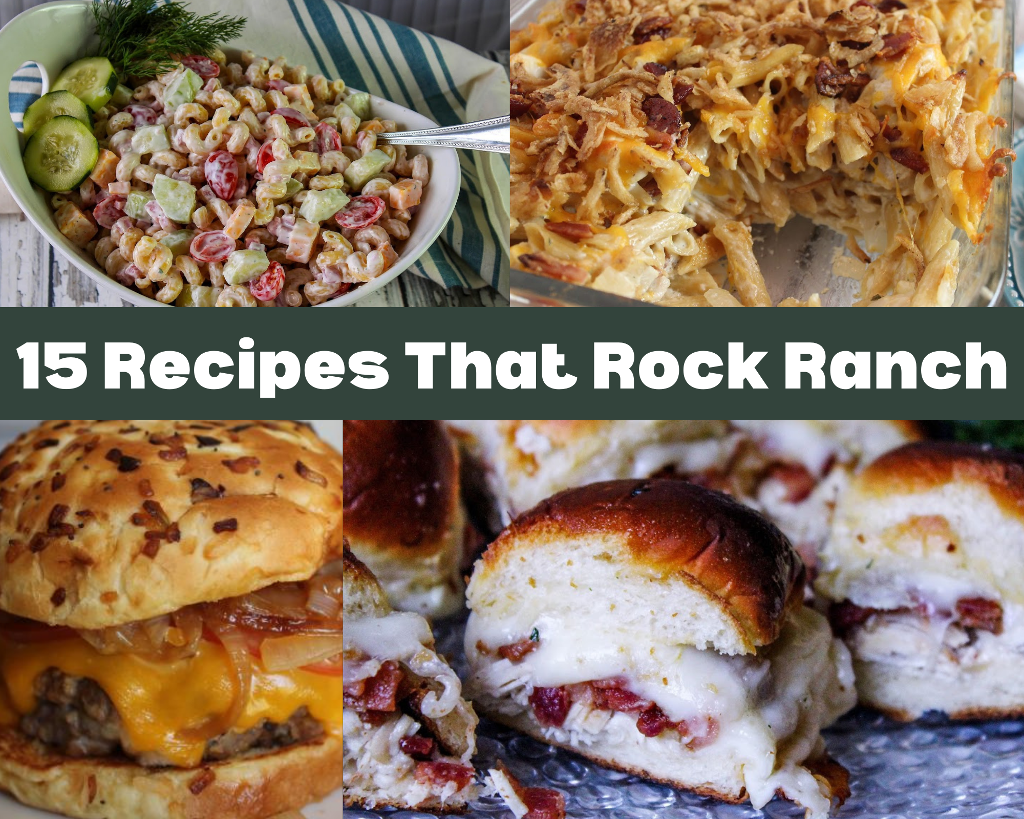 recipes that feature ranch flavoring