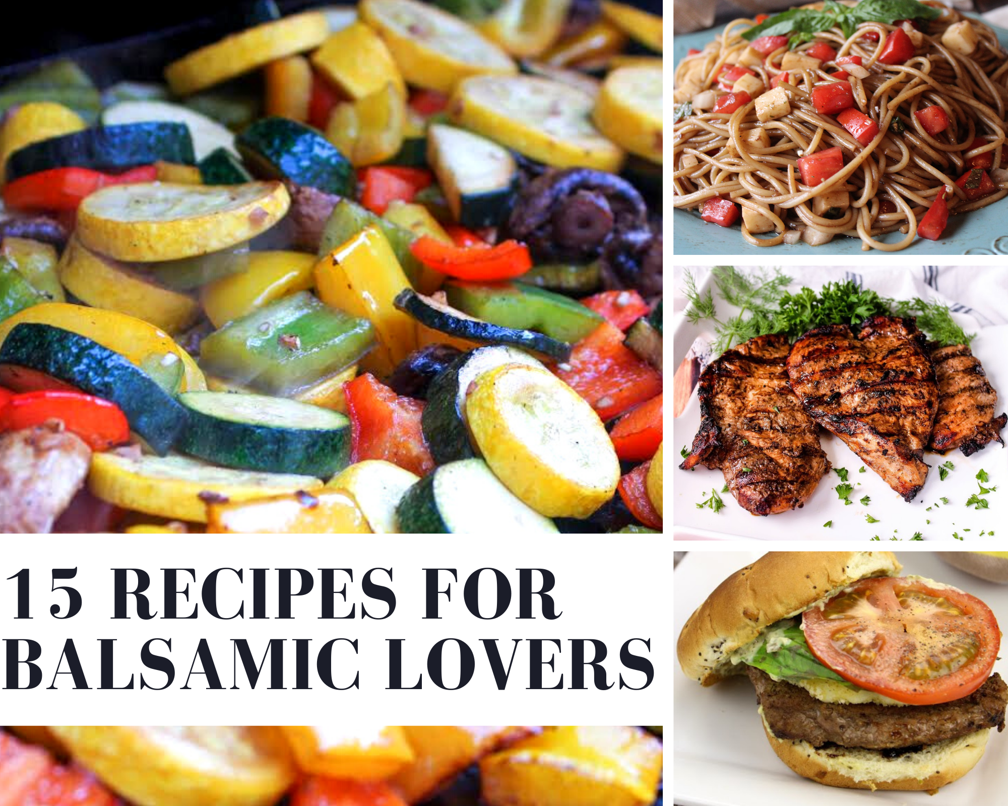 balsamic recipes to try