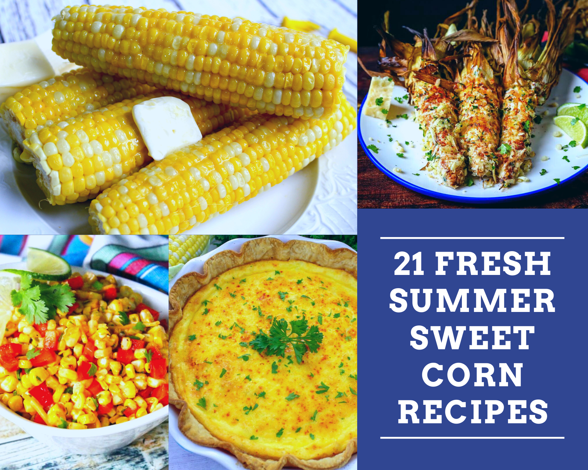 fresh summer sweet corn recipes