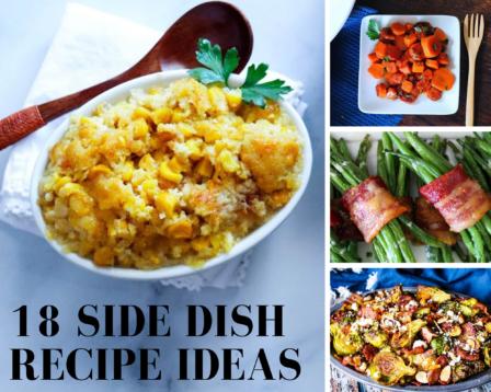 18 Side Dish Recipe Ideas