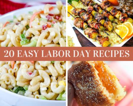 20 Easy Labor Day Recipes