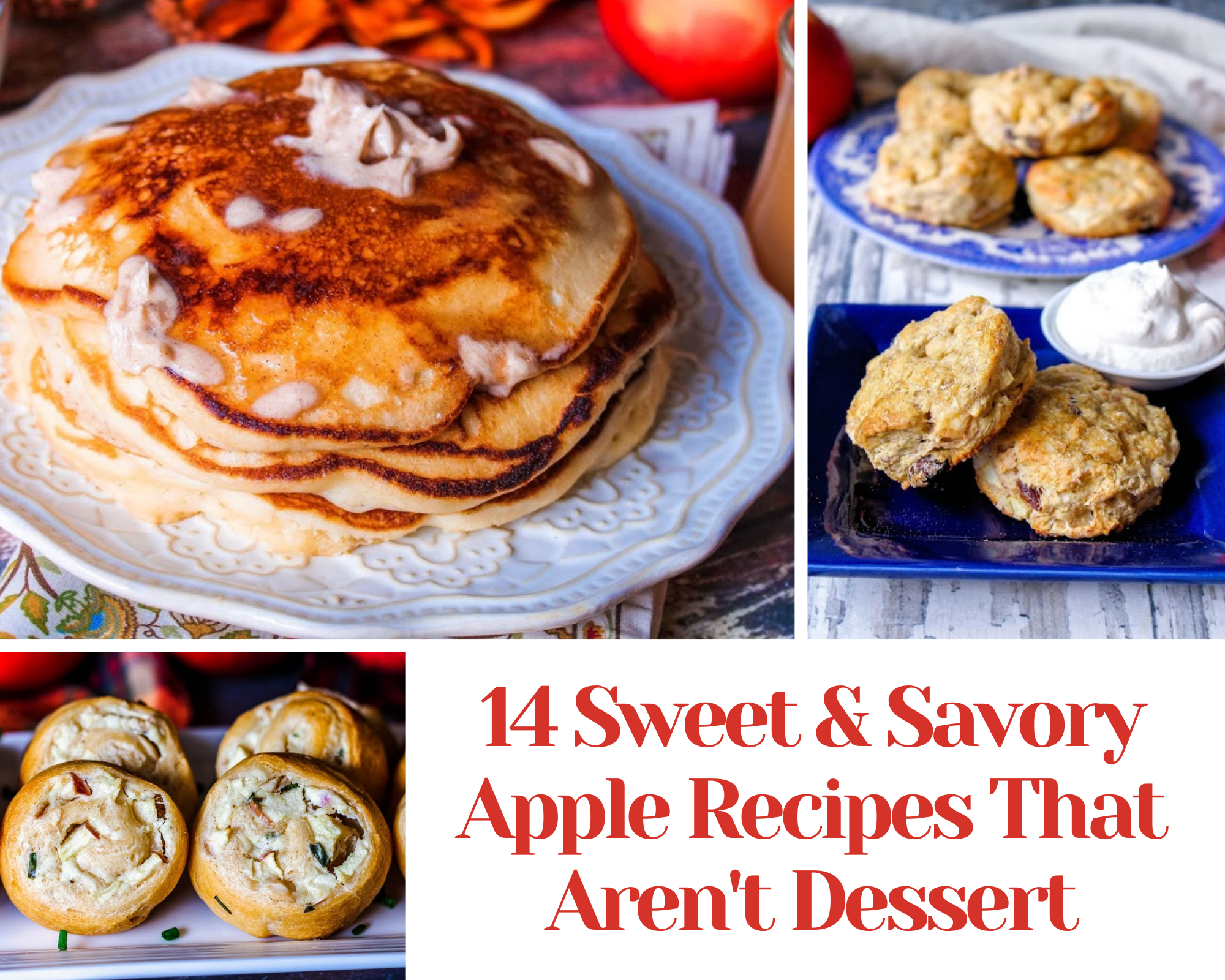 14 sweet and savory apple recipes
