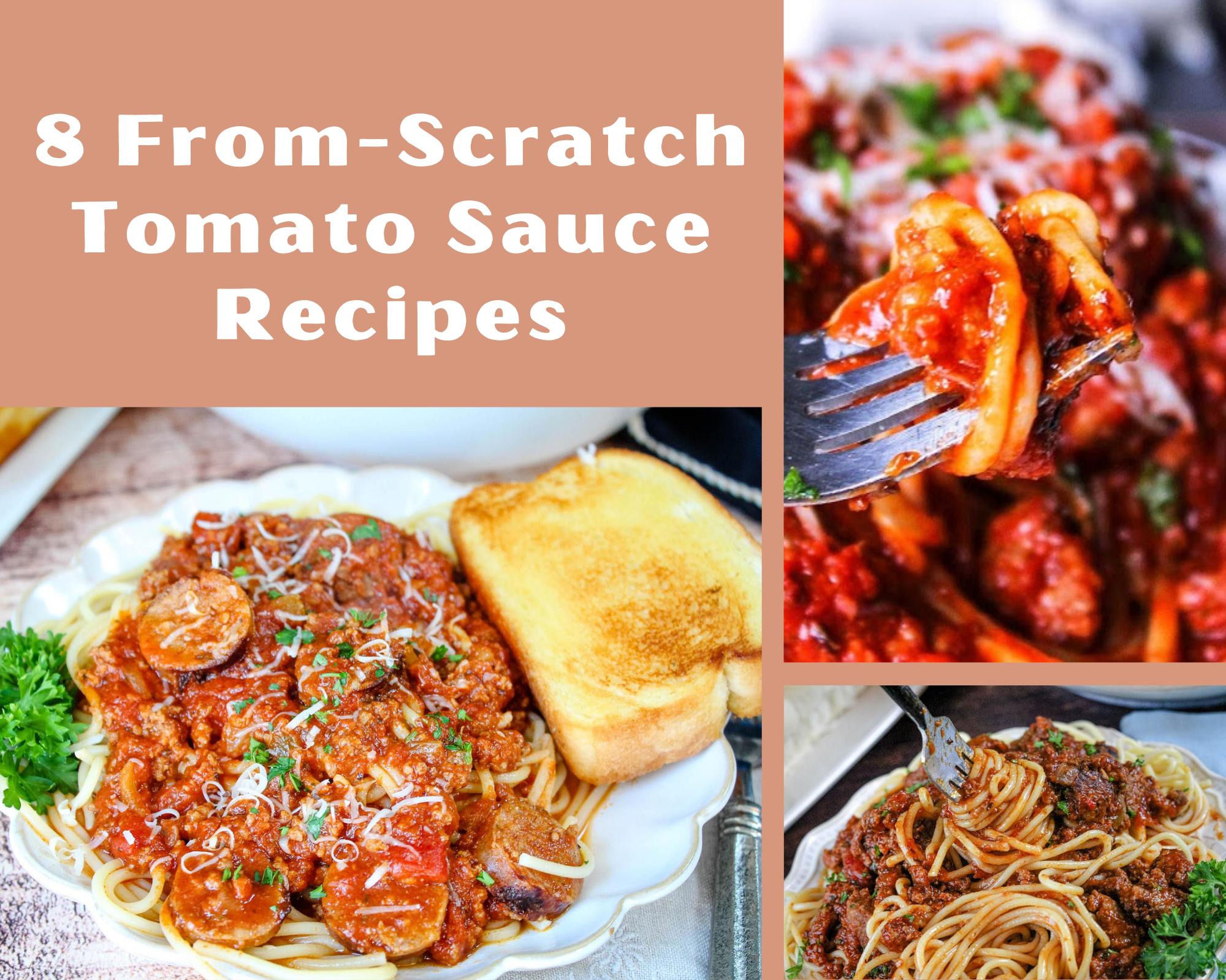 homemade tomato sauce recipes