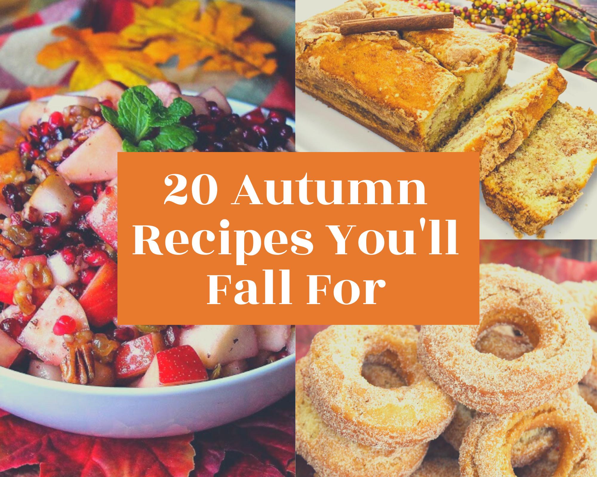 20 autumn recipes