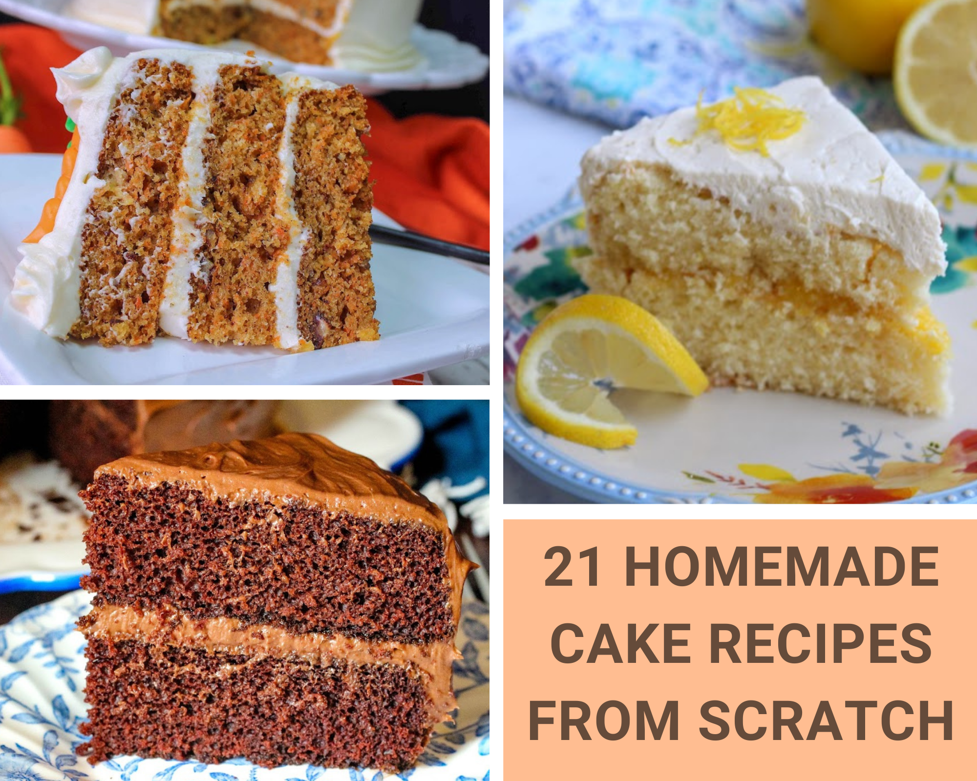 homemade cake recipes from scratch