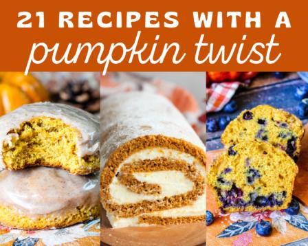 21 Recipes With a Pumpkin Twist