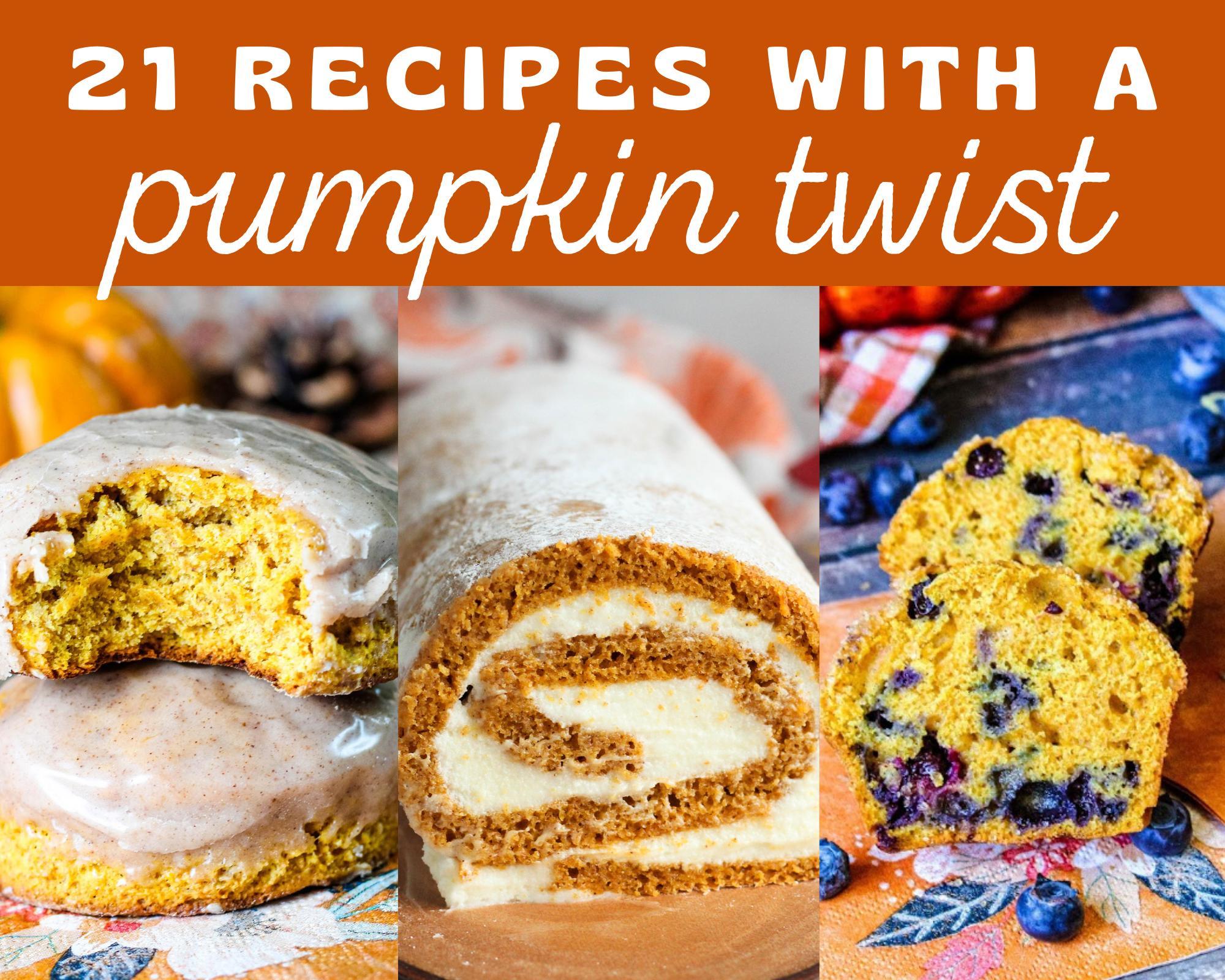pumpkin recipes for fall
