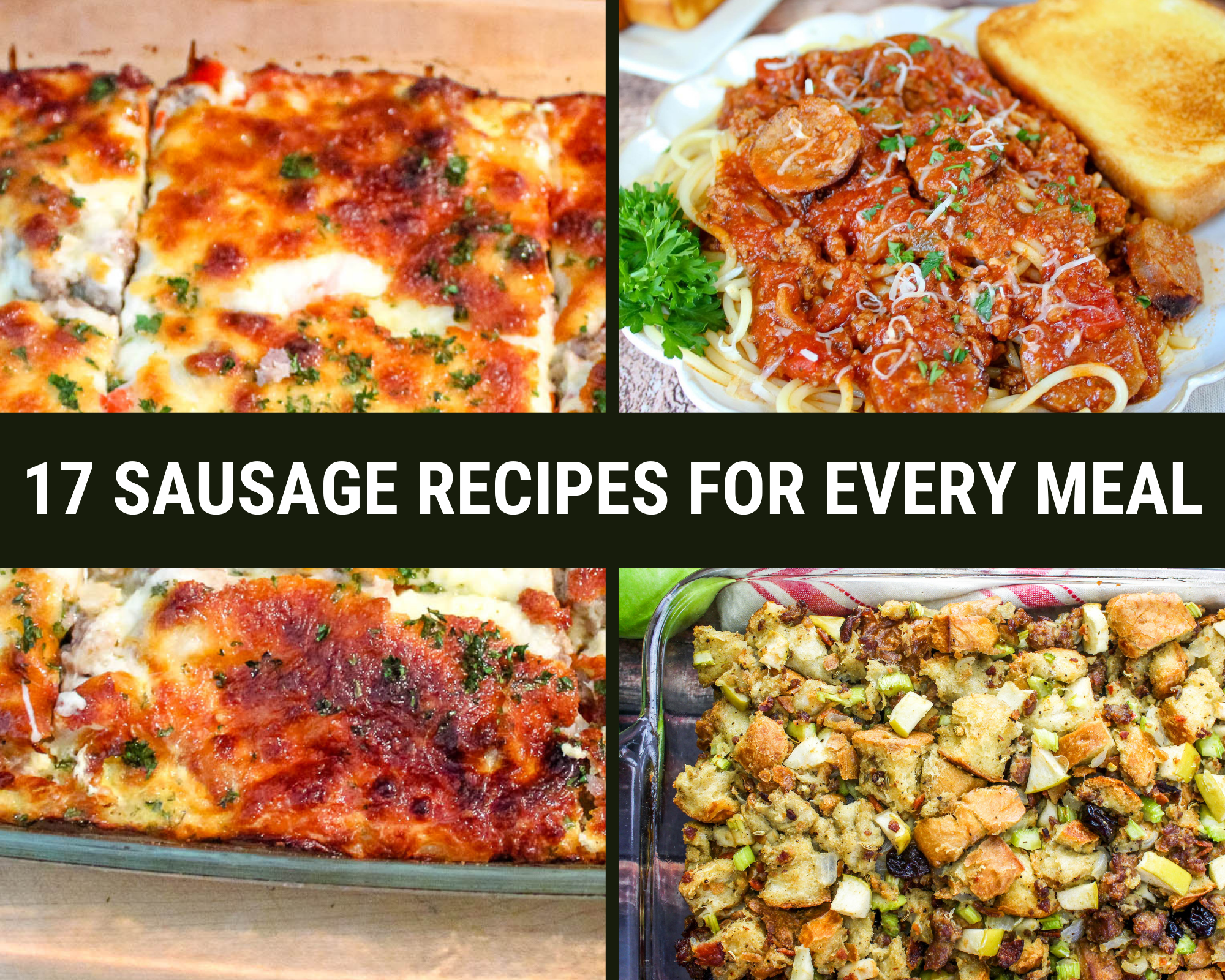 17 sausage recipes for every meal