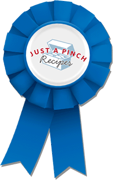 The Just A Pinch Blue Ribbon